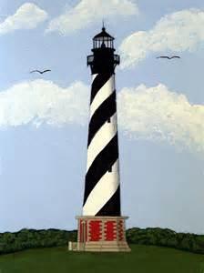 Leesburg Flowers - cape hatteras lighthouse by frederic kohli