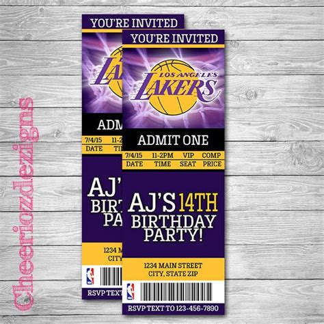 1000 Ideas About Basketball Birthday Parties On Pinterest Basketball Party Basketball Party Nba Ticket Template