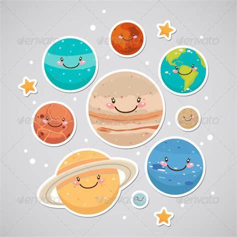 planet stickers  nenochka graphicriver