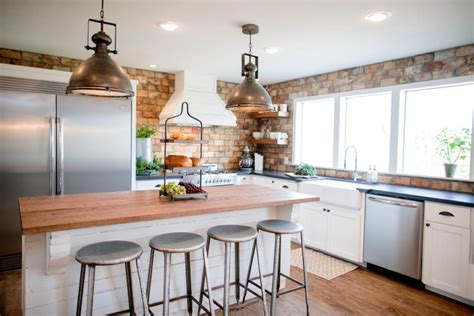 Show Kitchen Designs Kitchen Makeover Ideas From Fixer Hgtv S Fixer With Chip And Joanna Gaines Hgtv