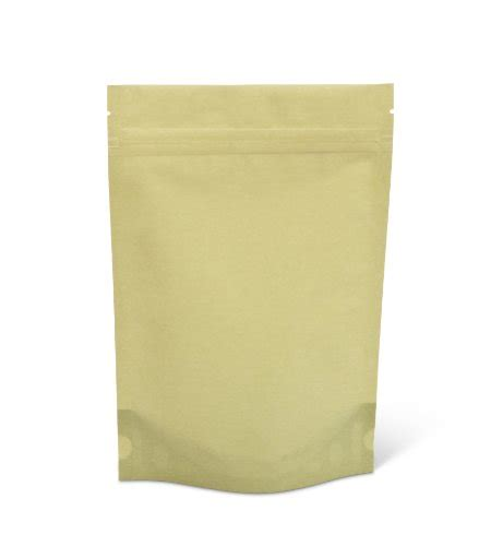 Standing Pouch Alufoil Emas 500 Zipper pacific bag 430 311gr stand up pouch 8 oz light green rice paper with zipper of 500