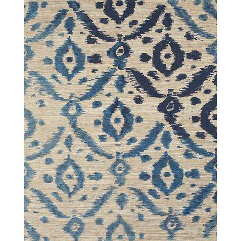navy ikat rug grand bazaar woven jute serra rug in ikat navy 2 6 x 8 by grand bazaar products rugs