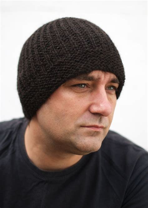 free knitting pattern mens beanie geko mens beanie hat kit designed by the talented