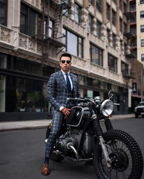 pin de ahmet tan em motorsiklet em  moda  homens