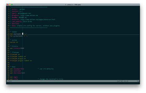 tutorial vim linux vim 安装 配置 快捷键列表 183 linux tutorial
