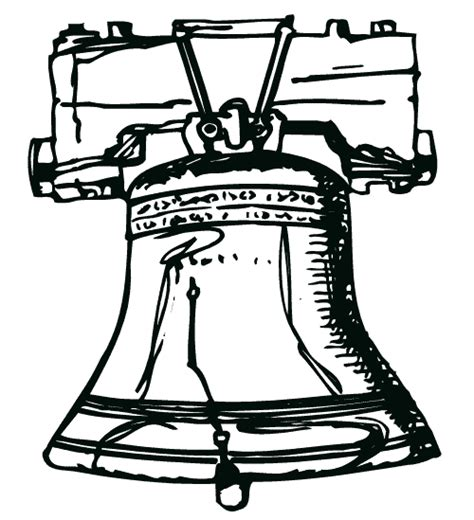 Liberty Bell Coloring Page Printable by Liberty Bell Coloring Page Printable Coloring Pages