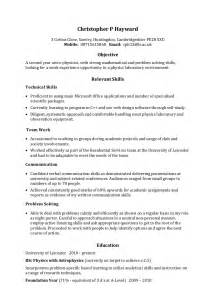 Example Skills For Resume example skills based cv