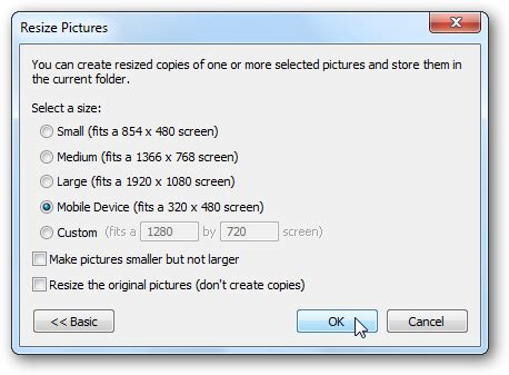 downsize image how to resize your photos the easy way
