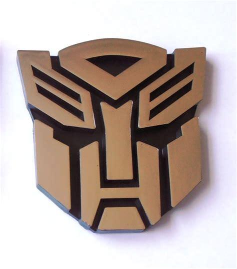 Emblem Transformers Autobots Transformer Autobot Chrome transformers autobot decepticon car chrome badge emblem