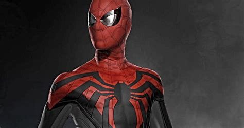 spider man costume revealed  latest   home