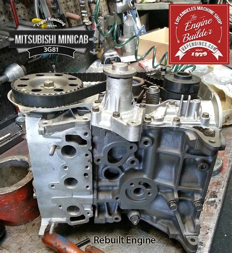 mitsubishi minicab engine mitsubishi minicab 3g81 remanufactered engine los