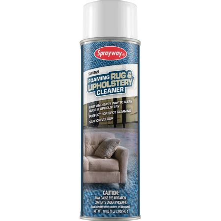 Upholstery Cleaner Walmart by Sprayway 869 Foaming Rug Upholstery Cleaner 18 Oz