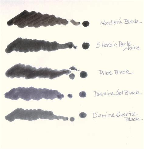 Pen Standart Ae7 Black pilot pen ink an inkophile s