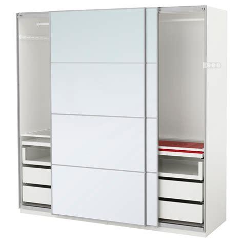 ikea pax wardrobe mirror pax wardrobe white auli mirror glass 200x66x201 cm ikea