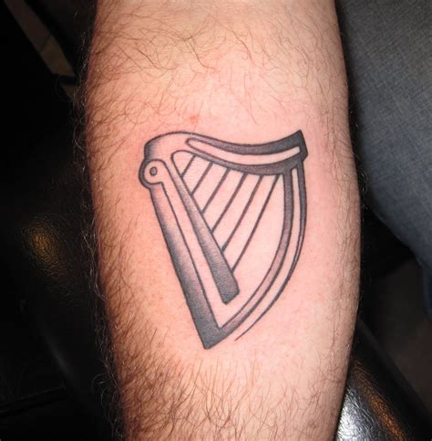 harp tattoo celtic harp key to my tattoos
