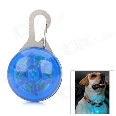 Light Pet by Safety 3 Mode Blue Led Clip On Pet Collar Pendant Light