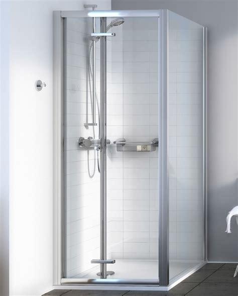 Bi Fold Shower Doors 900mm Aqualux Source 900mm Bi Fold Shower Door 1192604