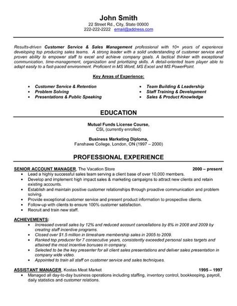 free resume sles account manager click here to this senior account manager resume template http www