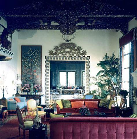 Maximalist Interior Design | tony duquette interior design maximalism jewel tones