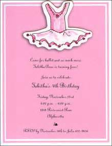 tutu ballerina birthday invitations paperstyle