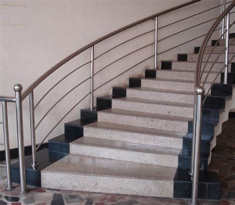 Stainless Steel Stairs Design Indoor Stainless Steel Stair Railing Founder Stair Design Ideas