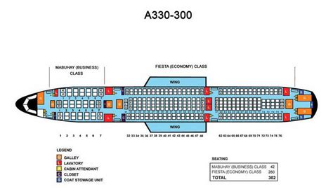 airbus a330 300 seating klm philippine airlines aircraft seatmaps airline seating