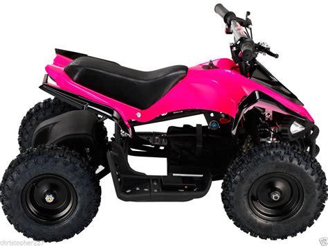 battery powered mini outdoor kids ride on v2 pink mini quad atv dirt bike