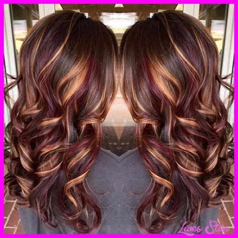 blonde and burgundy hairstyles burgundy blonde hair color hairstyles fashion makeup of