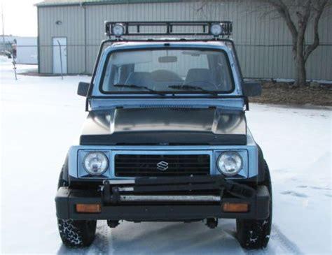 Suzuki Samurai Roof Rack Find New 1988 5 Suzuki Samurai 4x4 Tin Top Roof Rack Suv