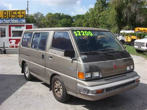 mitsubishi van 1988 1988 mitsubishi minivan information and photos momentcar