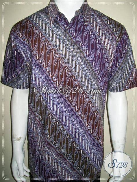 Kemeja Batik Parang Modern Gradasi Maroon batik shop pria modern corak parang gradasi terbaru