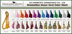 graduation cord color meaning graduation gown materials size color charts for grad