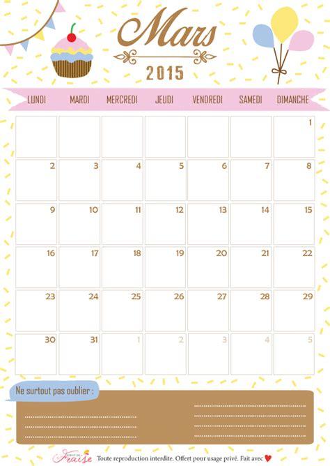 Calendrier 3 Mars 2015 Sirop De Fraise Lifestyle Et Diy Le Calendrier Du
