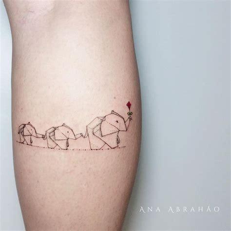 tattoo elephant mini m a t e r n i d a d e e l e g a n t e esta 233 a linda