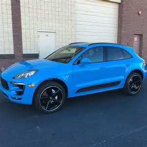 Porsche Macan Blue Color Wp1ab2a57glb53129 Porsche Macan 2015 2016 2017 Mexico