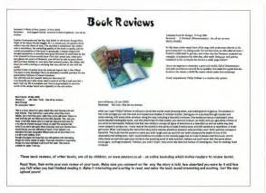 writing a book review ks2