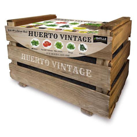 Batlle Vintage Vegetable Garden Kit For 163 21 81 On Planeta Vegetable Garden Kit