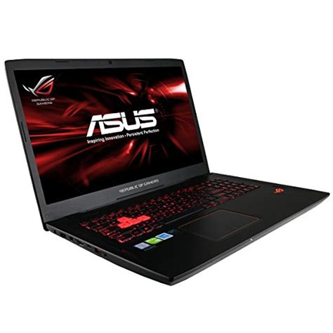 Asus Rog 17 3 Laptop Intel I7 32gb Memory asus rog gl702 republic of gamers laptop nvidia geforce gtx 1060 6gb i7 6700hq cpu