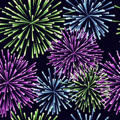 seamless pattern fireworks pirotecnia vectors photos and psd files free download