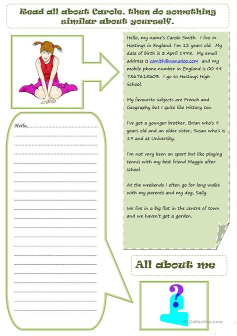 Esl Introducing Yourself Worksheet by Introduce Yourself Worksheet Free Esl Printable