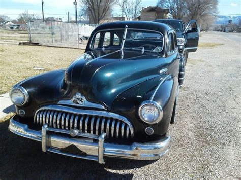 1948 buick special 4 door with a clean title