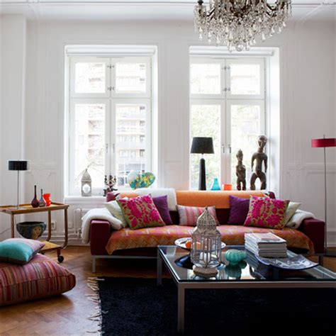 HOME DZINE Home Decor   Living in full colour
