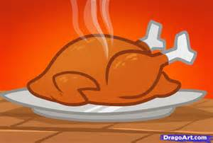 draw thanksgiving turkey cooked turkey step step thanksgiving seasonal free