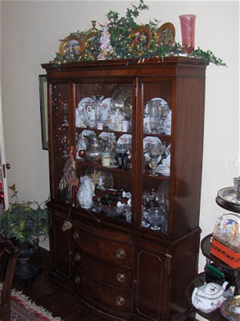 what to put on top of china cabinet it s to get rid of your china cabinet nourishing