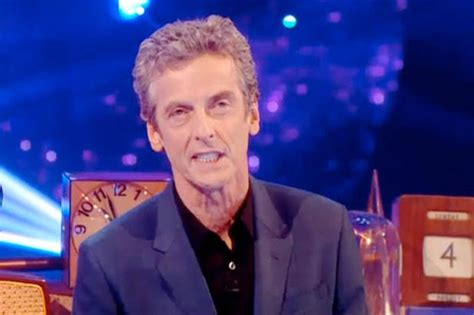 capaldi is the new doctor who reveal the thick