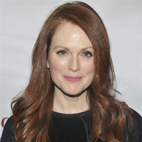 julianne moore hair colour from the drug store julianne moore puts it all out there