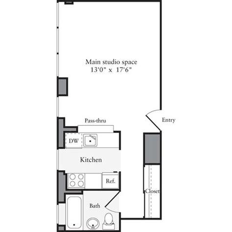 studio 54 floor plan archstone west 54th 505 west 54th street manhattan scout
