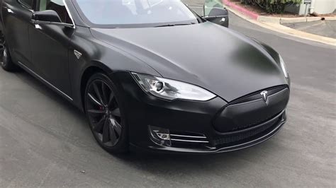 black bentley interior tesla model s p85 customized matt black bentley