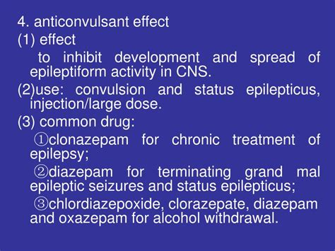 Oxazepam In Detox Withdrawal by Ppt Agents Acting On The Central Nervous System