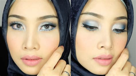 Eyeshadow Biru blue eyeshadow look 2 riasan mata eyeshadow biru irna